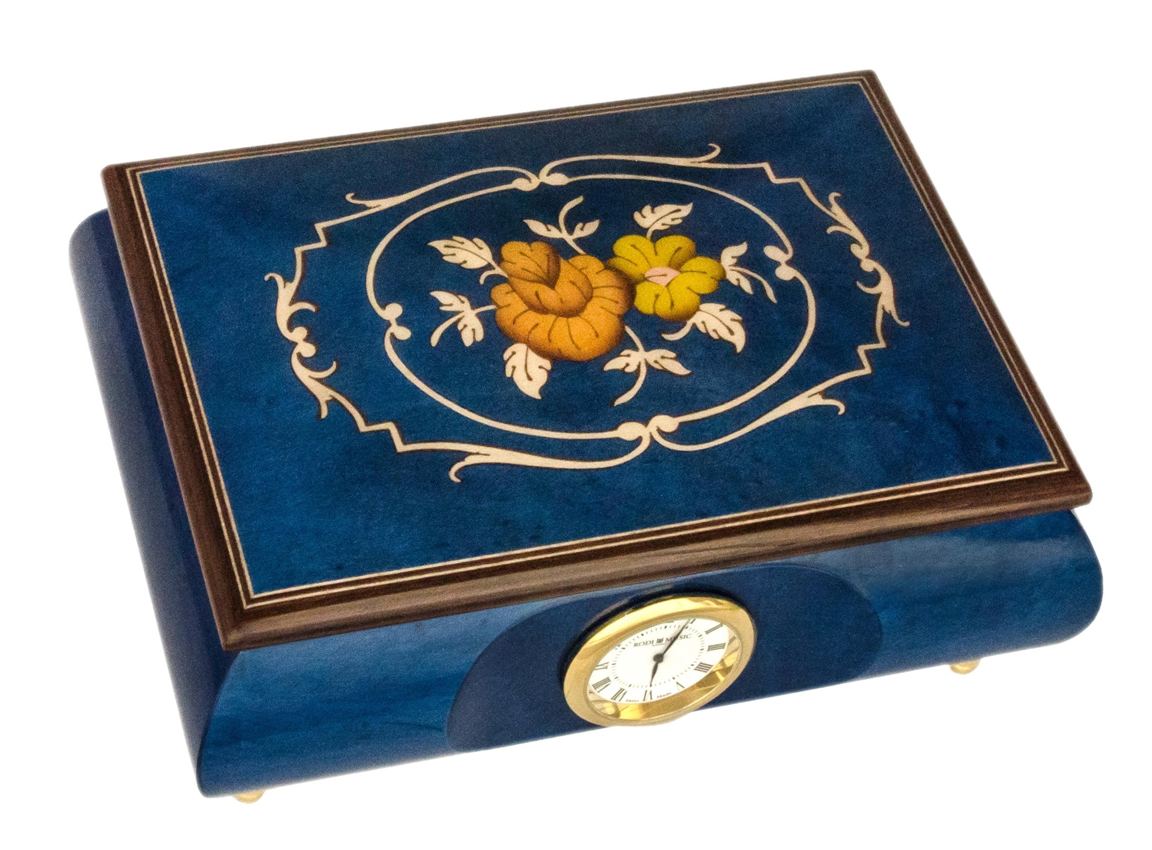Rodi 03cf06w Blue Rodi Music Box Souvenir Amp More