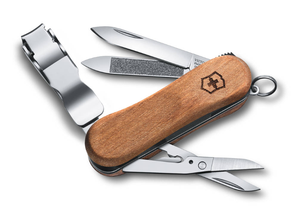 how to clean a swiss army knife
