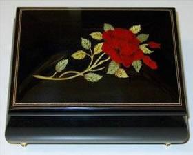 Rodi 16cr03 Black Rodi Music Box Souvenir Amp More