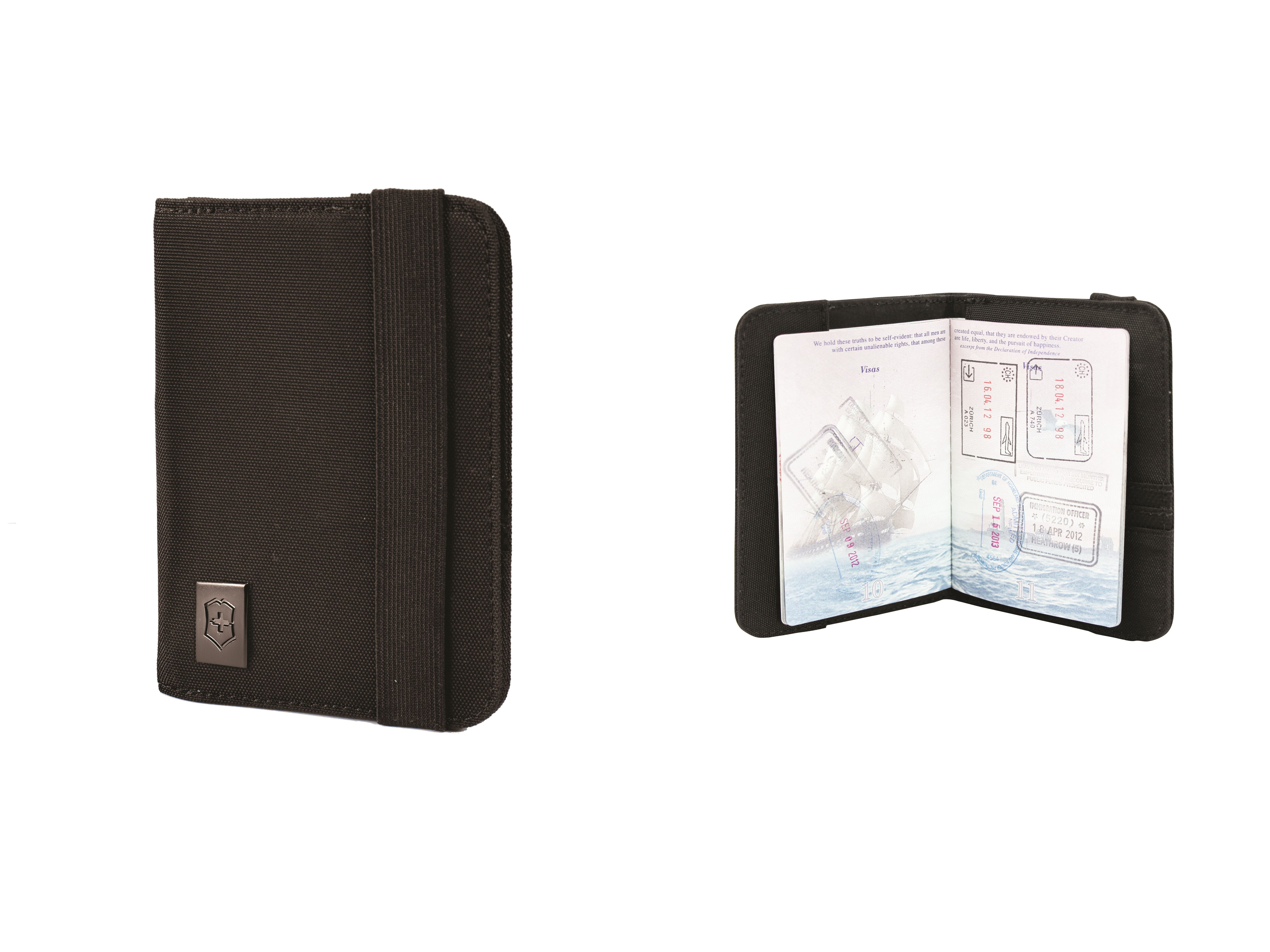 Victorinox Gear Passport Holder With Rfid Protection Black