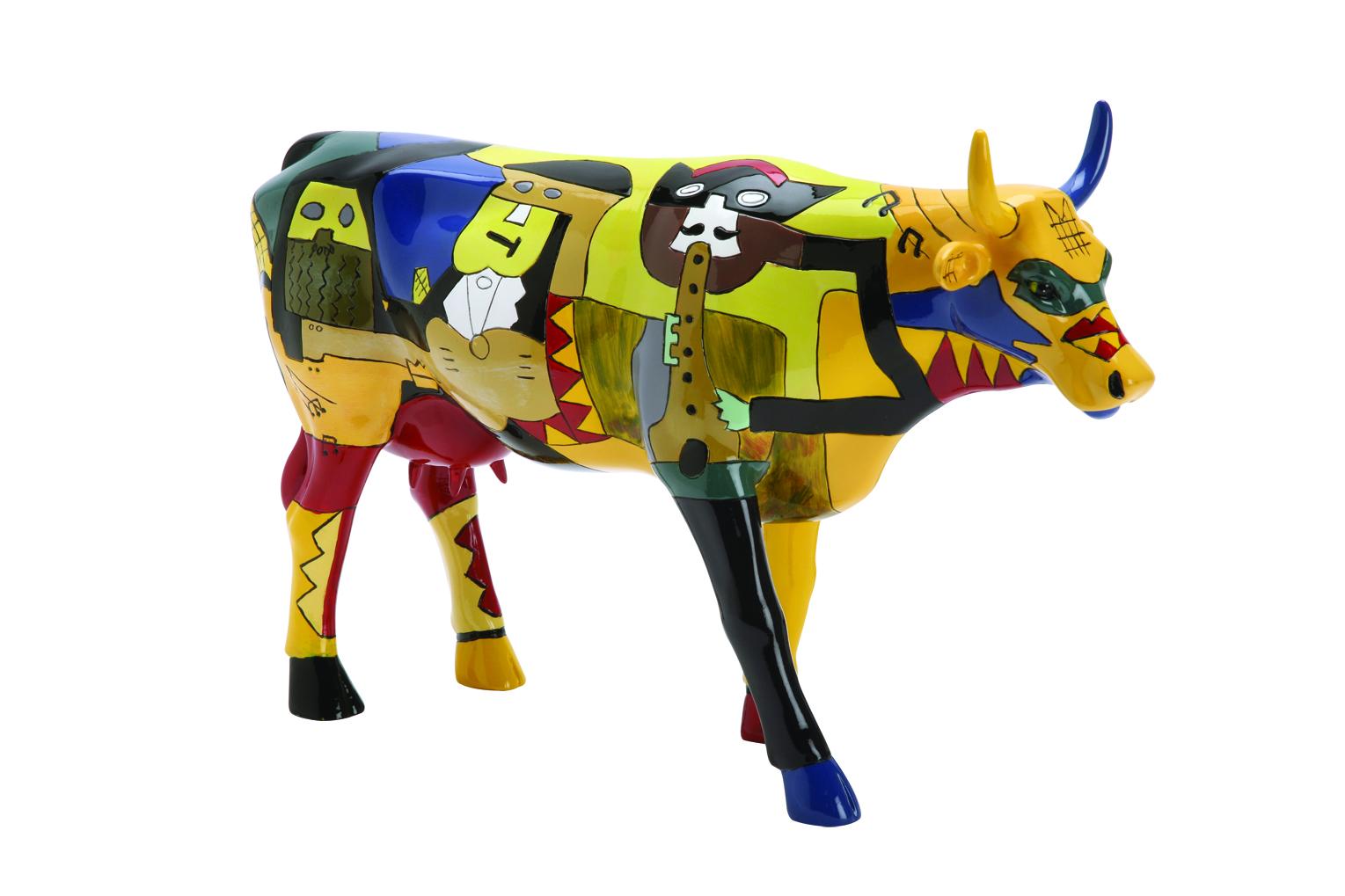 Cow Parade Picowso S Moosicians