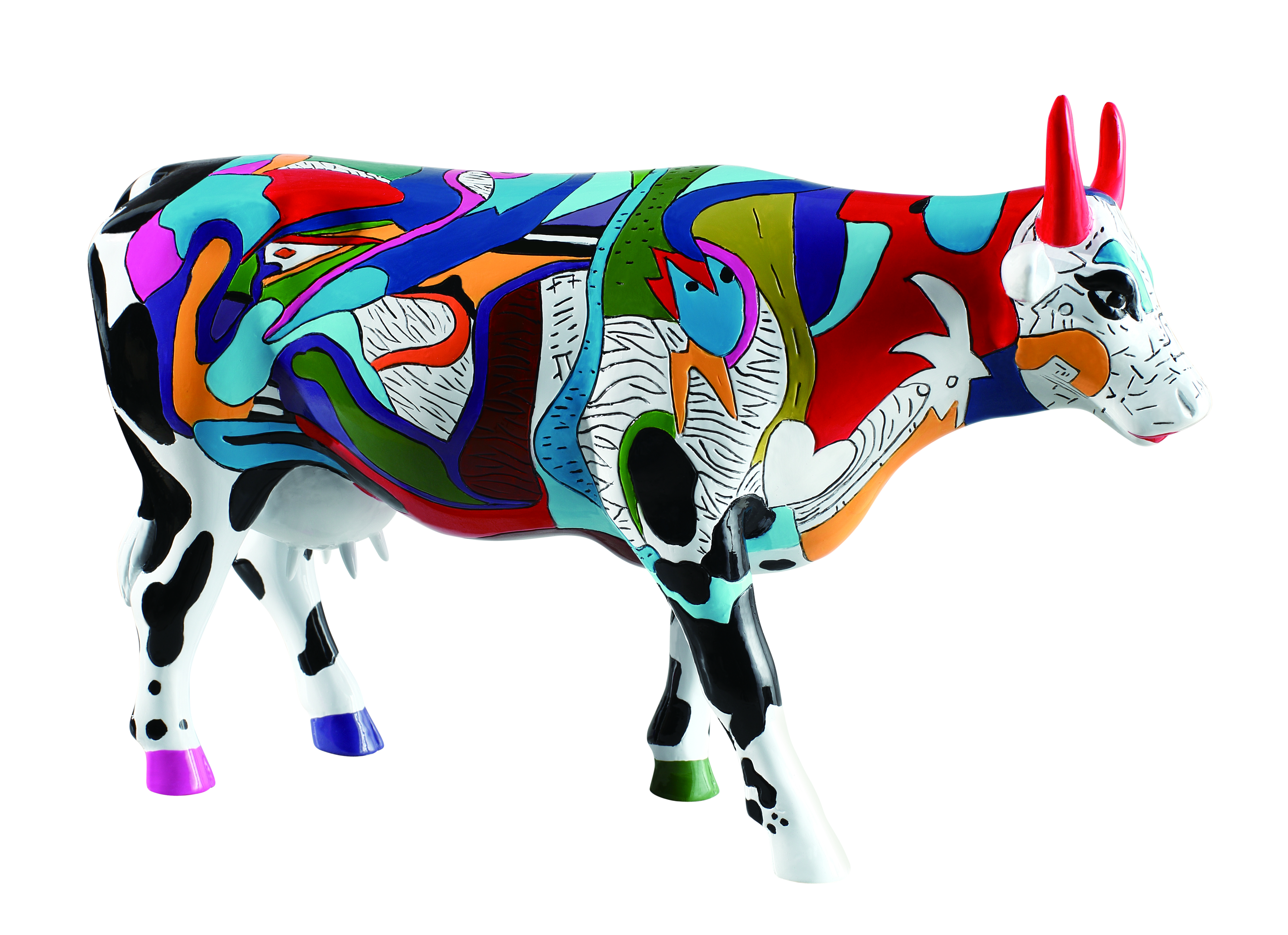 Cow Parade Ziv S Udderly Cool Cow