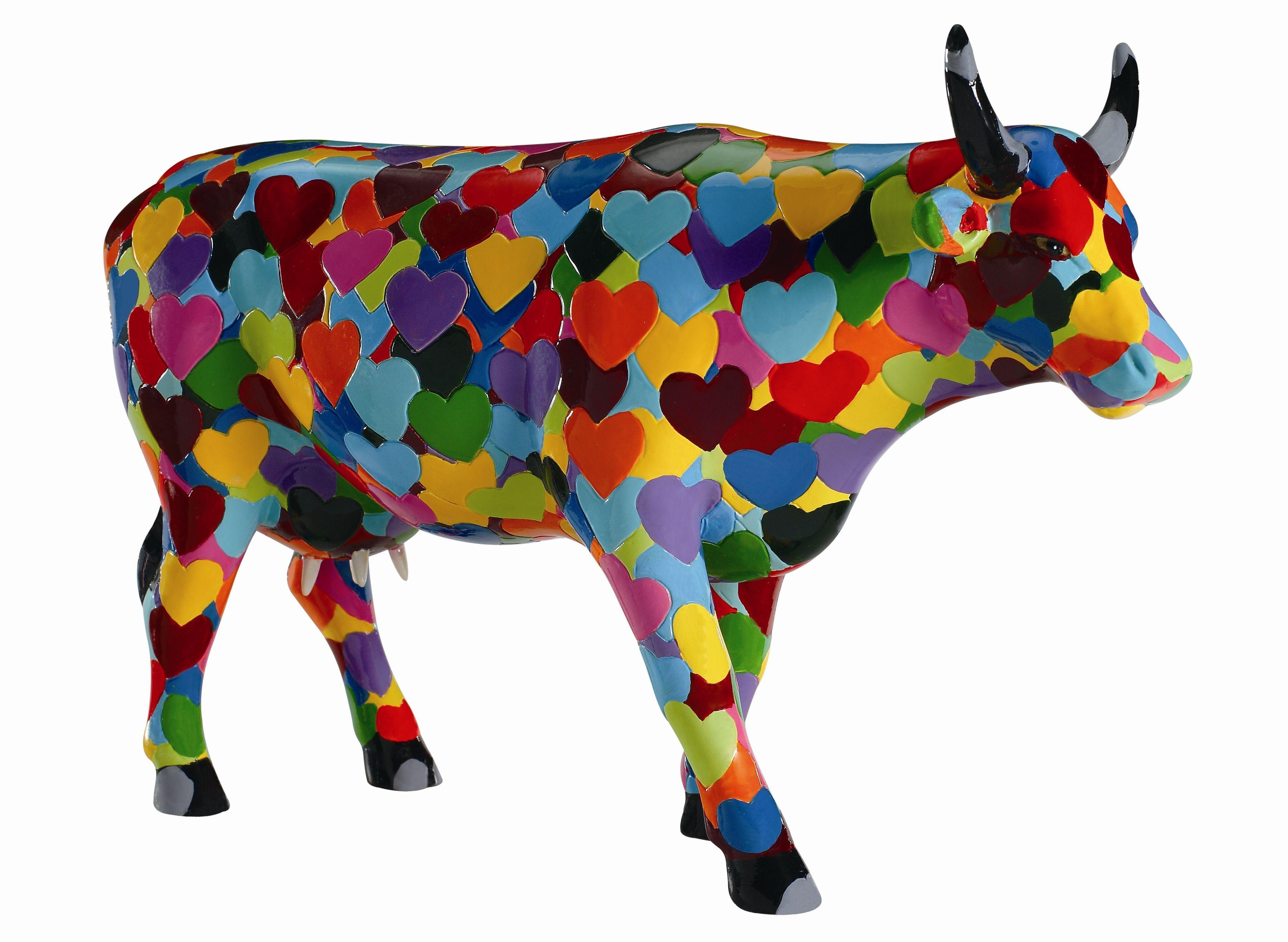 Cow Parade Heartstanding Cow