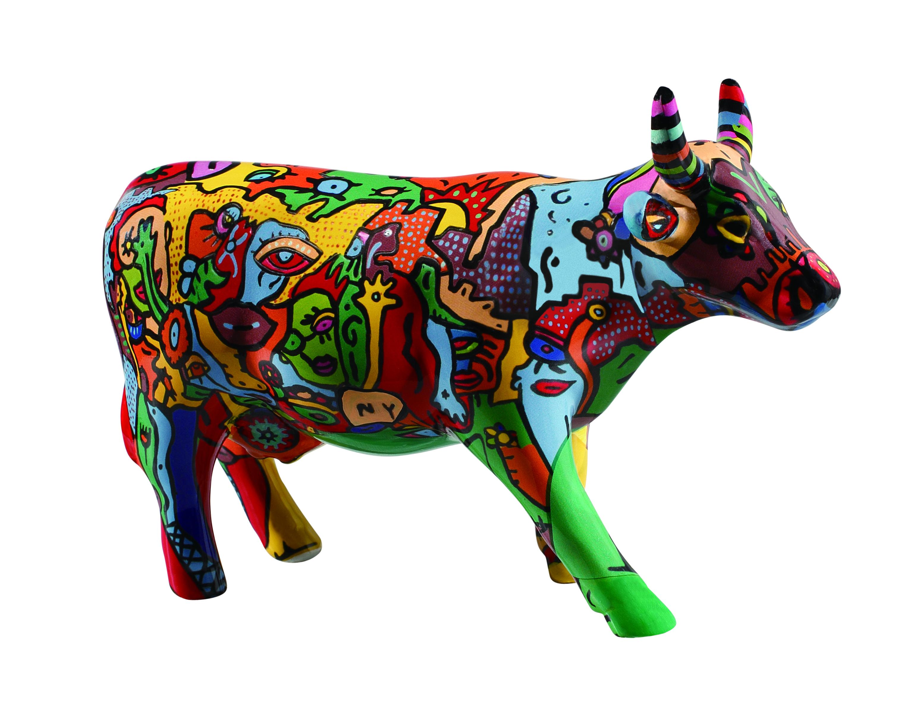Cow Parade Moo York Celebration Medium Cowparade