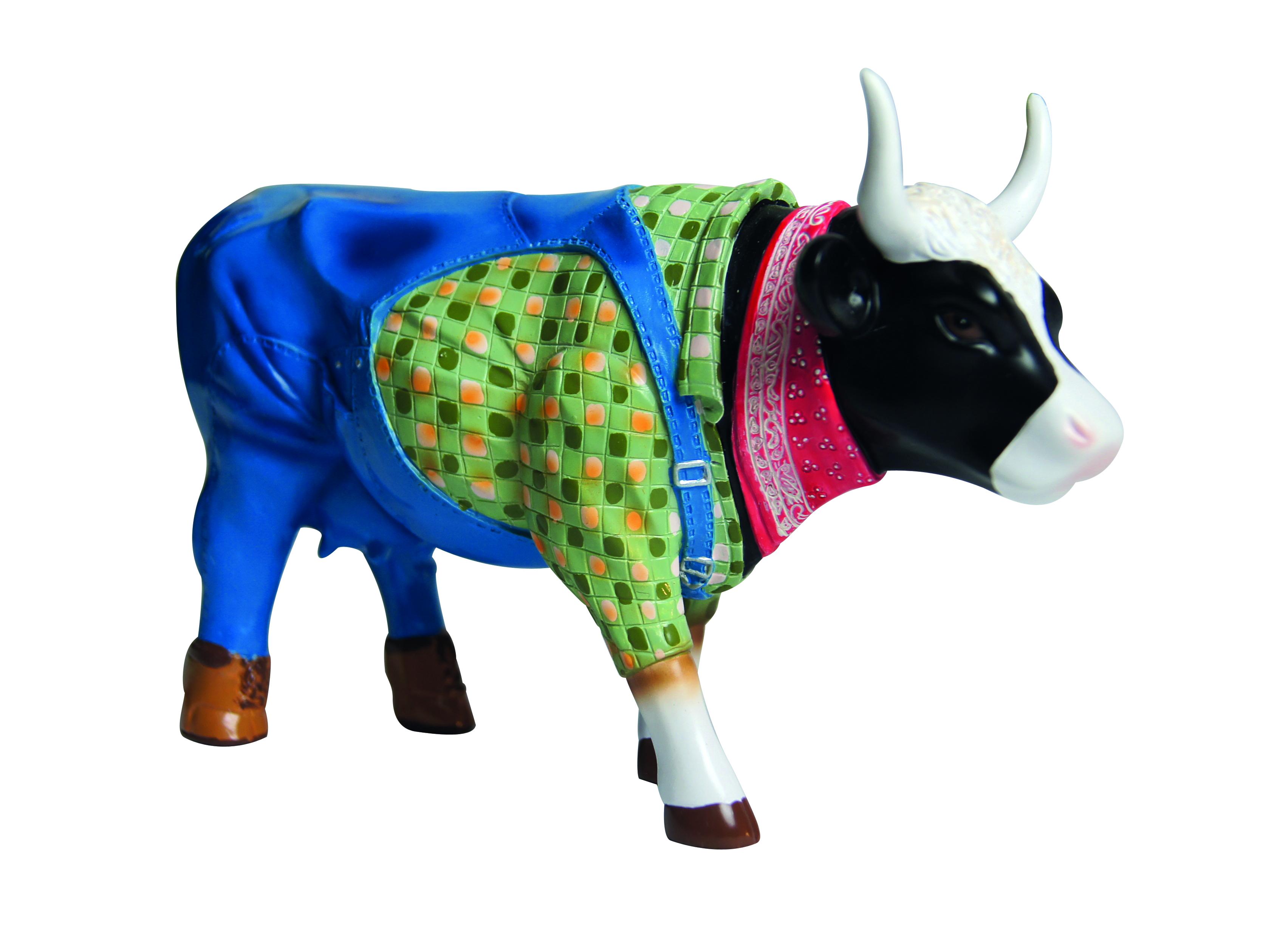 Cow Parade Farmer Cow