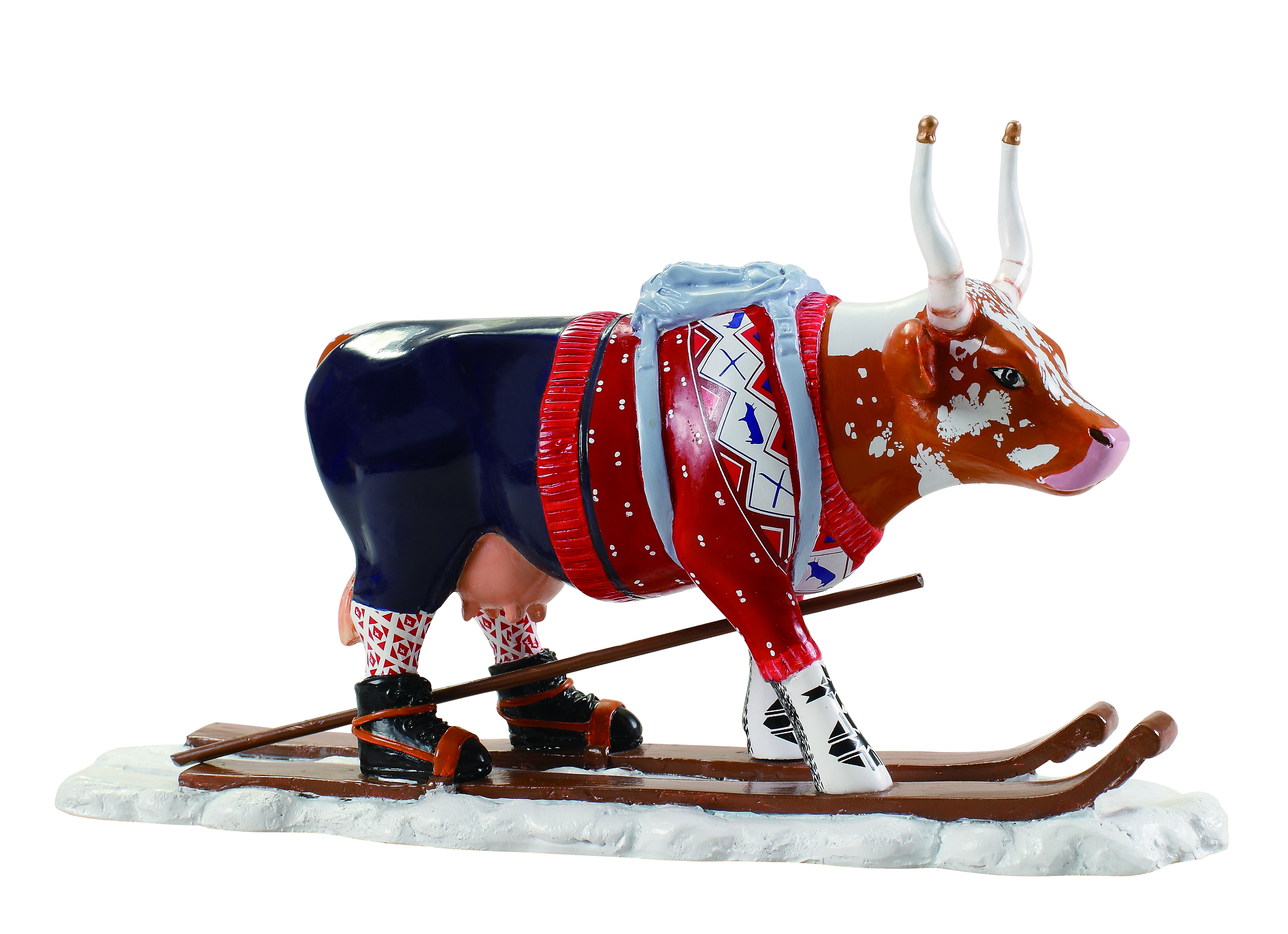 Cow Parade L 248 Ypelin Lausl 229 M The Ski Cow