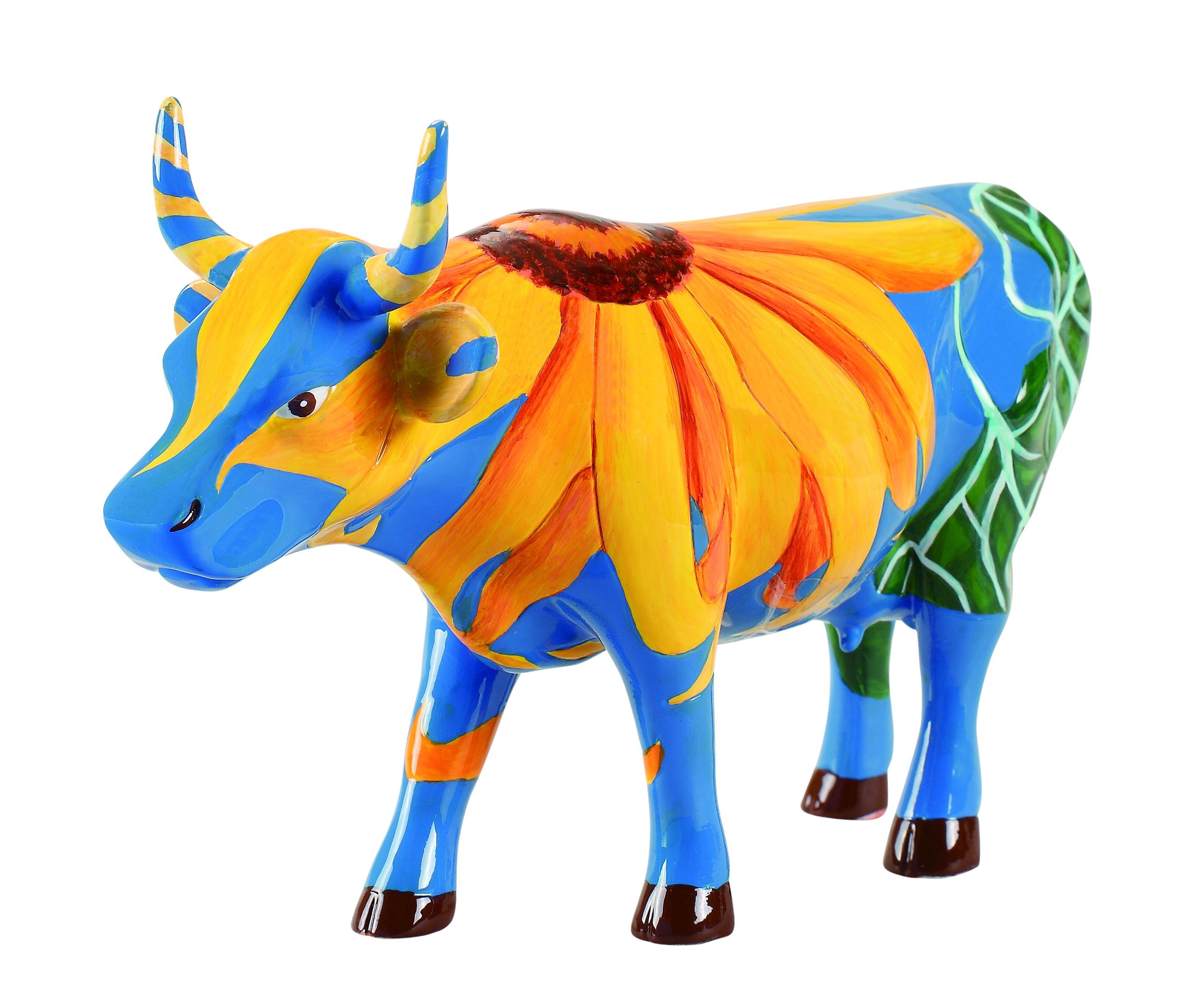 Cow Parade Udderly Sunflowers Medium Cowparade
