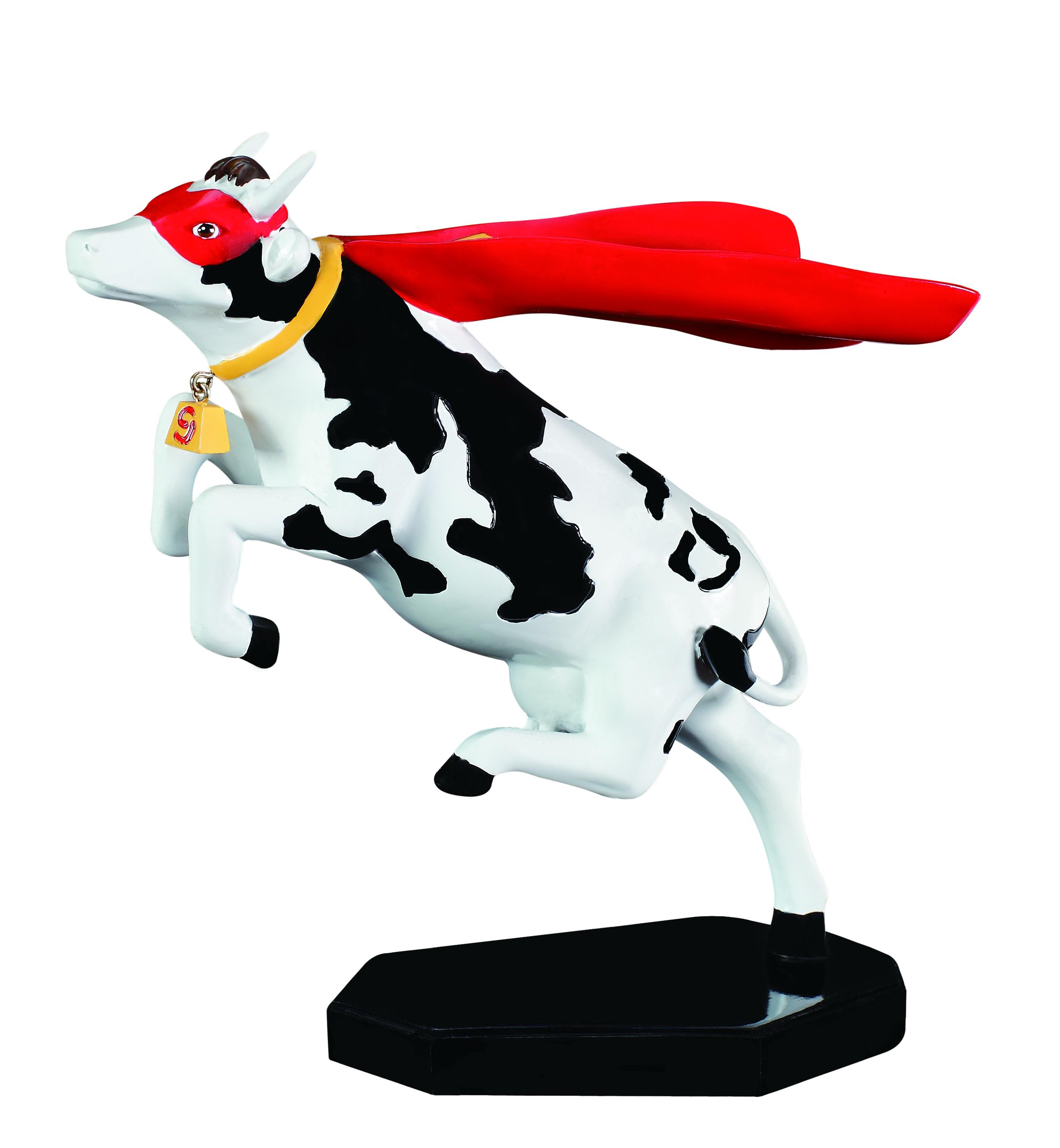 Cow Parade Super Cow