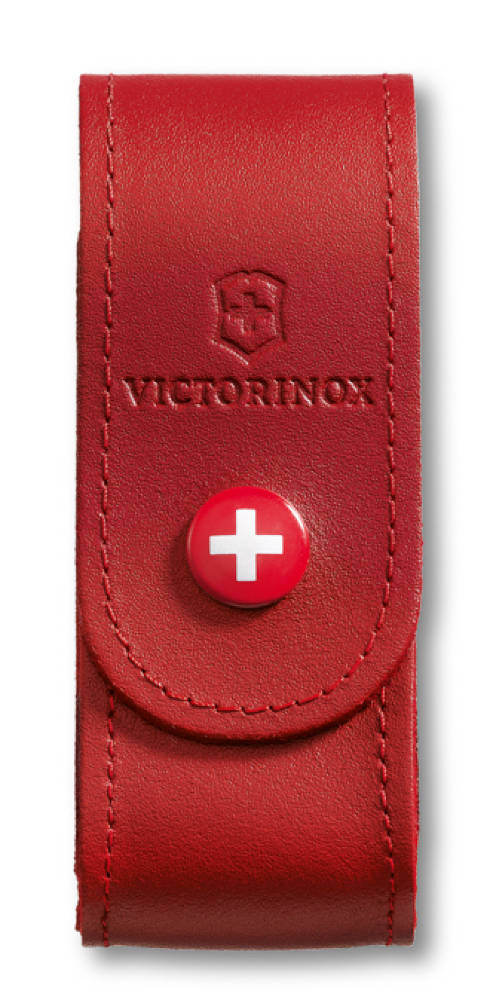 Victorinox Red Leather Pouch 91 93 Mm 2 4 Layers