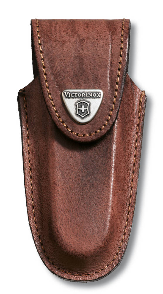 Victorinox Brown Leather Pouch 111 Mm 2 3 Layers Pouches