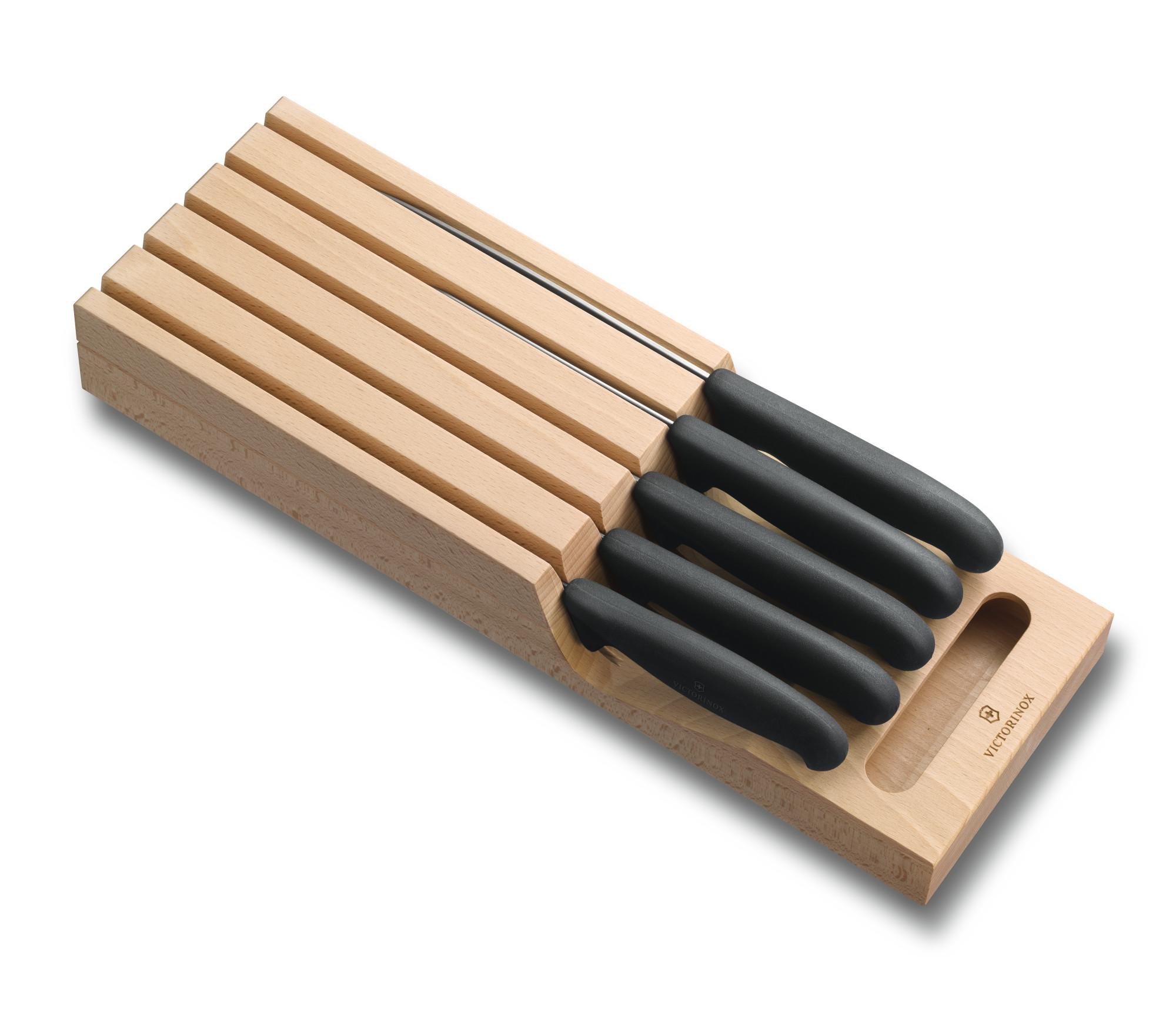 victorinox range couteaux fibrox pour tiroir couteaux de cuisine victorinox coutellerie. Black Bedroom Furniture Sets. Home Design Ideas