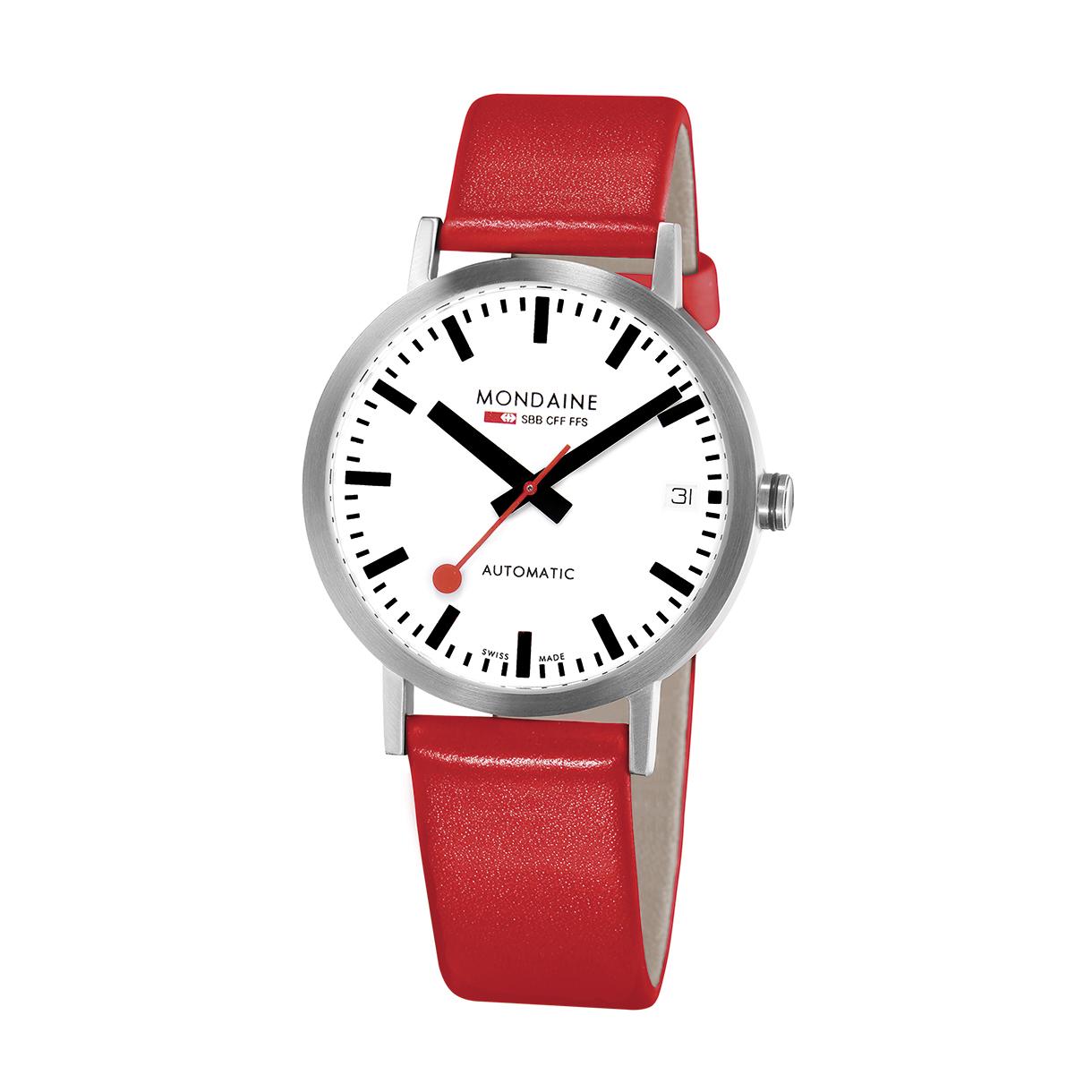 Mondaine classic automatic mondaine watches clocks - Mondaine travel clock ...