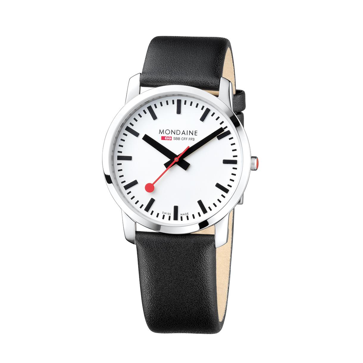 Mondaine simply elegant mondaine watches clocks - Mondaine travel clock ...
