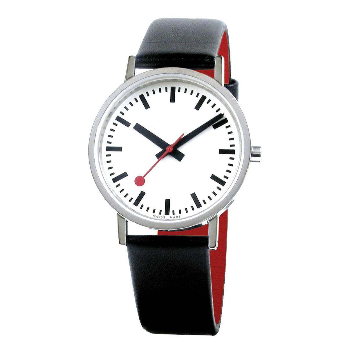 Mondaine classic pure - Mondaine travel clock ...