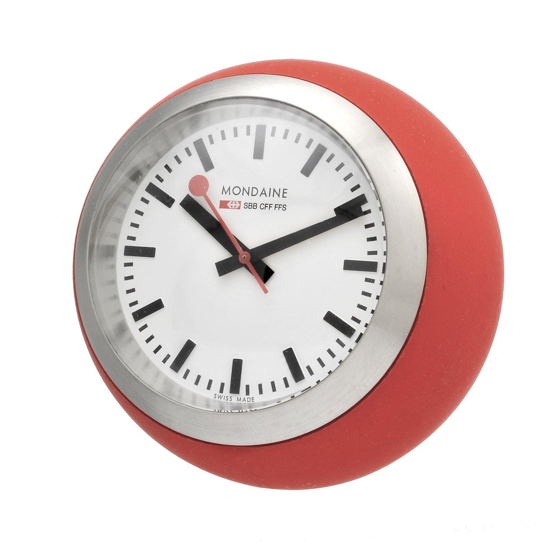 Mondaine globe clocks mondaine watches clocks - Mondaine travel clock ...