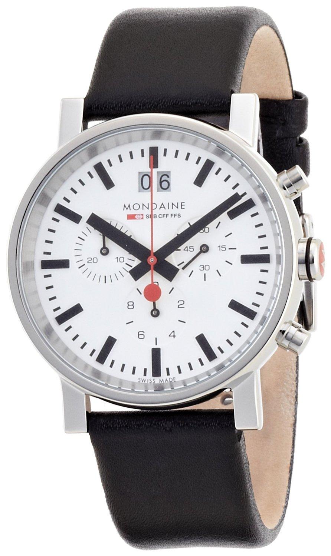 Mondaine evo chronograph evo mondaine watches clocks - Mondaine travel clock ...