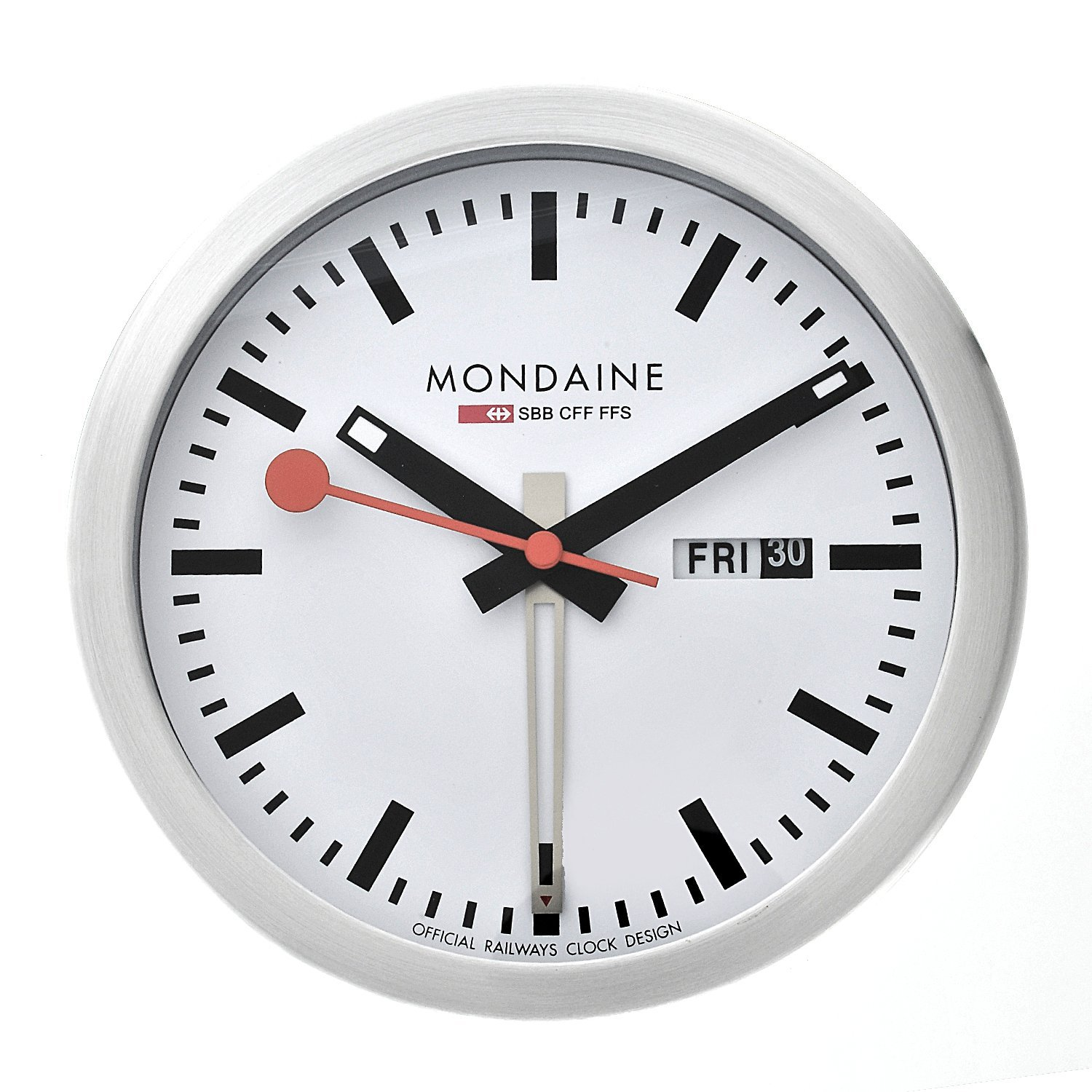 Mondaine Mini Clock Alarm
