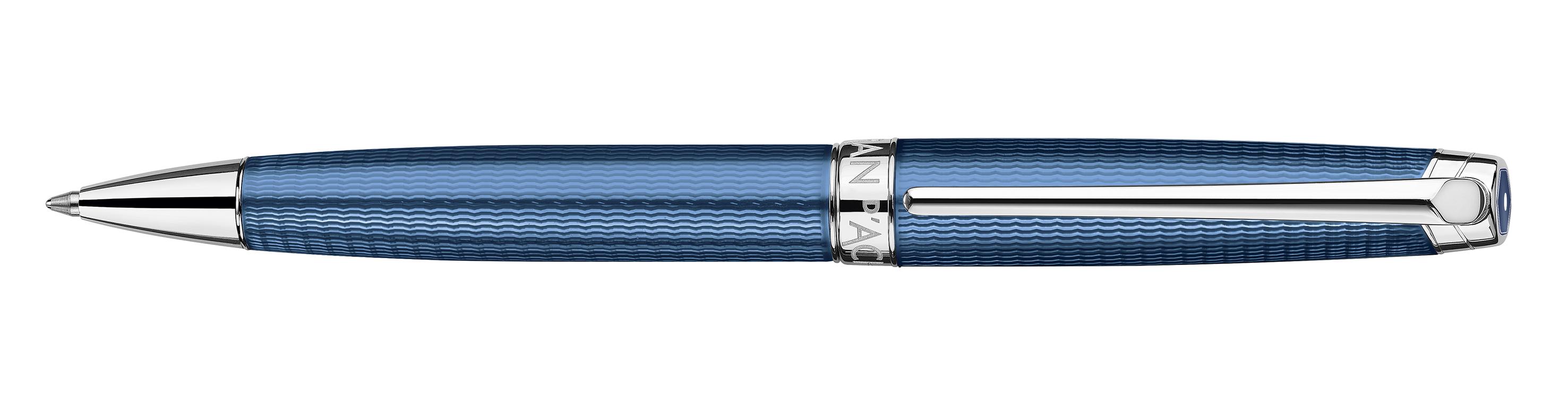 Caran D Ache L 233 Man Grand Bleu Ballpoint Pen
