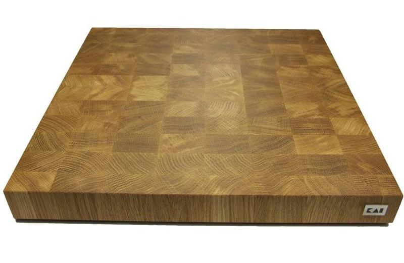 Kai Head Wood Chopping Block Xl Kai Cutlery