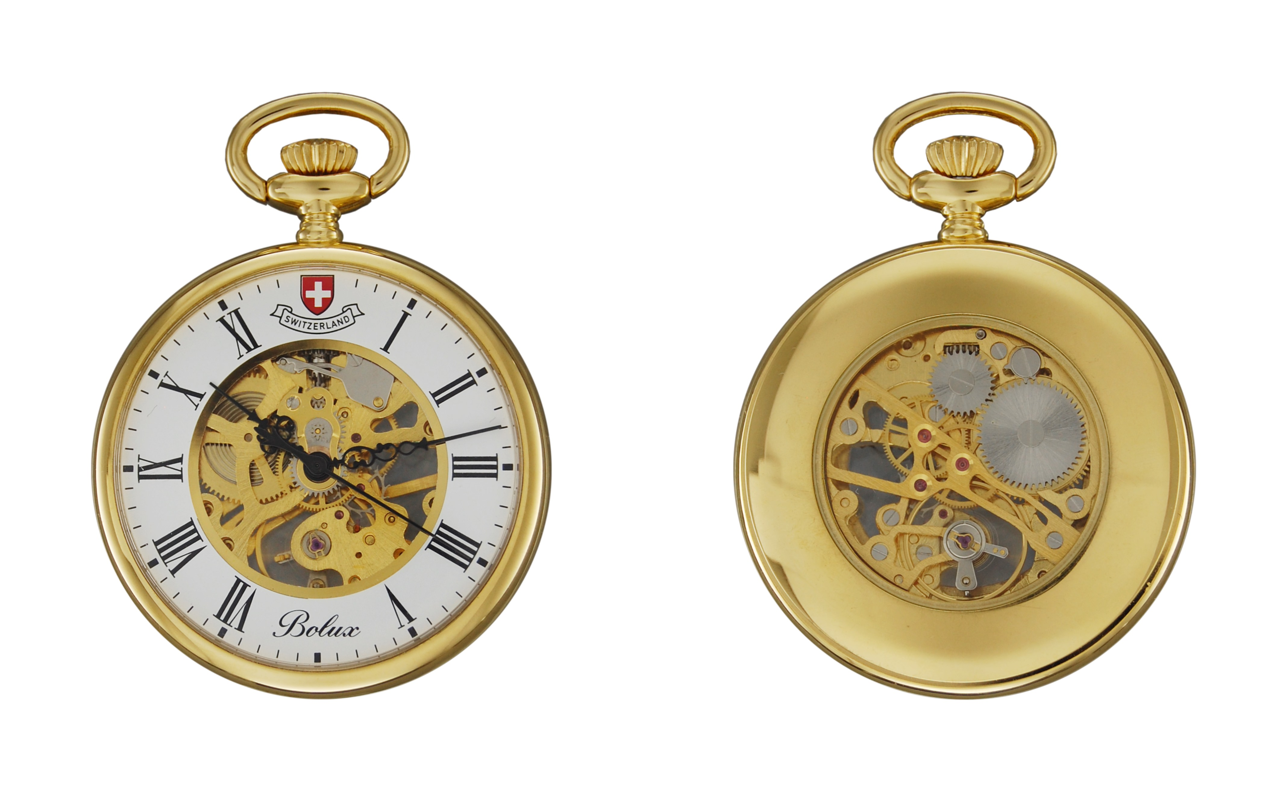 Jacques Du Manoir Mechanical Pocket Watch