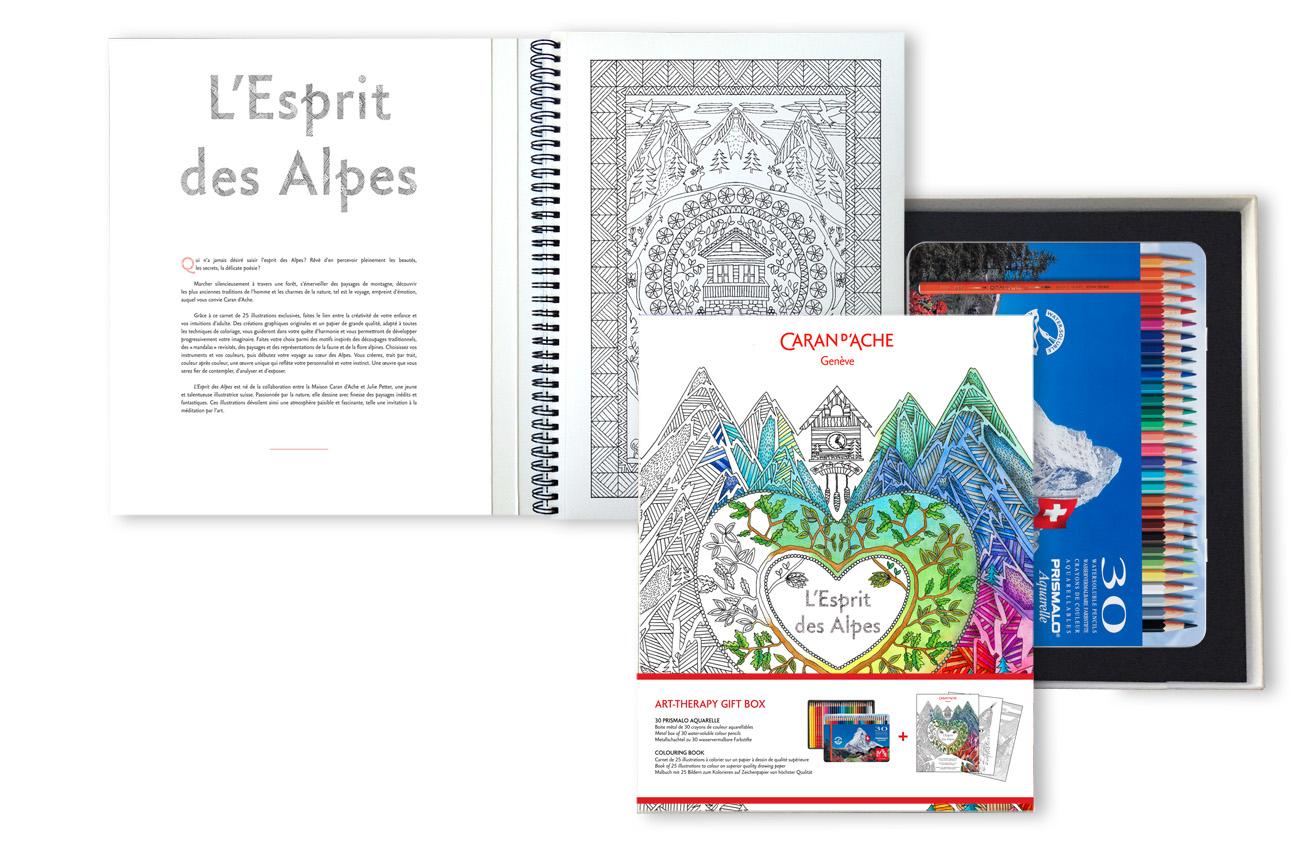 Caran DAche Gift Set Spirit Of The Alps