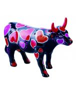 Cow Parade Cow-ween of Hearts