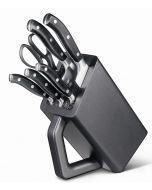 "Victorinox ""Grand Maitre"" forged knives block"