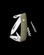 SWIZA Couteau de Poche TT03 Tick Tool Olive