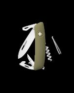 SWIZA Couteau de Poche D03R Olive