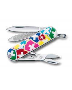 """Victorinox knife classic """"VX Colors"""" limited edition"""