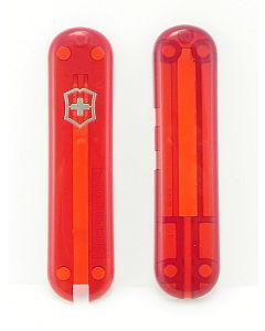 Victorinox Plaquettes rouge transparent signature 58 mm