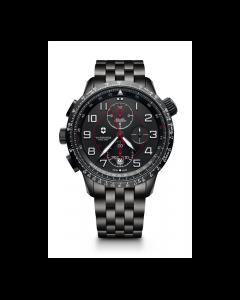 Victorinox Swiss Army Watch AIRBOSS MACH 9 BLACK EDITION