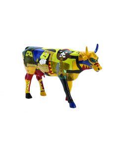 Cow Parade Picowso's Moosicians