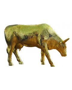 Cow Parade Mira Moo Gold