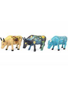 Cow Parade 3-Pack Van Gogh Artpack