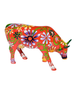 Cow Parade Flower Lover Cow
