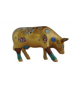 Cow Parade Klimt Cow