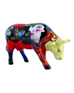 Cow Parade Hommage to Picowso's African Period