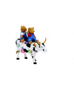 Cow Parade Teddybears on the Moove