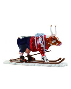 Cow Parade Løypelin Lauslåm (The Ski Cow)