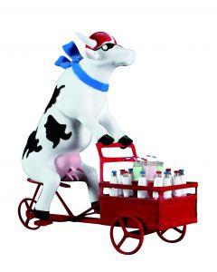 Cow Parade Lait Triporteur