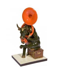 CowParade Joséphine au trombone