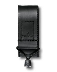 Victorinox Etui imitation cuir noir 91/93mm 2-4 épaisseurs