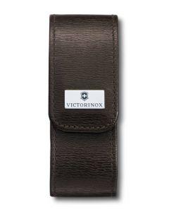 Victorinox étui brun en cuir 91/93 mm 2-4 épaisseurs