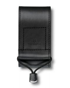 Victorinox Etui imitation cuir noir 91/93mm 5-8 épaisseurs