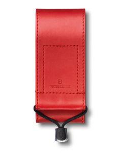 Victorinox Etui imitation cuir rouge 111mm
