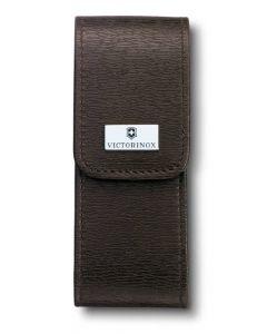 Victorinox étui brun en cuir 111 mm