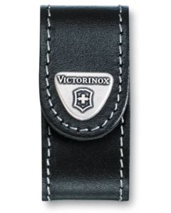Victorinox Black Leather Pouch 58 mm 2-4 layers