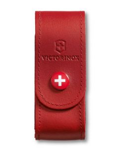 Victorinox Red Leather Pouch 91/93 mm 2-4 layers