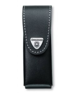 Victorinox Black Leather Pouch 111 mm 1-6 layers
